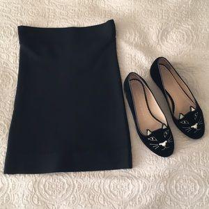 BCBGMax Azria Black Pencil Skirt XS- runs tiny!📦